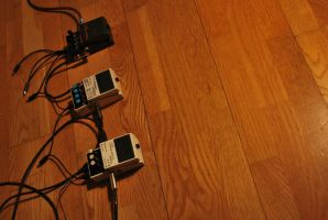 Pedals on wood by MacTinus