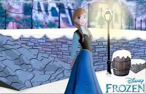 Anna ~ Frozen (Disney) By ~Megaansje and me! by joeyvandewouw