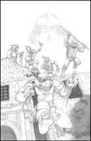 TMNT in SA by GraphicGeek