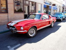 68 Shelby GT500 70 Monte Carlo by Partywave