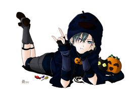 Colored Ciel Pumpkin by Melanie-the-Cat