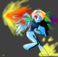Rainboom Punch! by TheYoungReaper