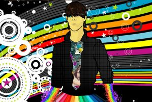 my psychedelic myself from 2010 by jamt1989
