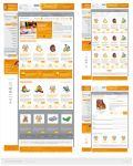 E-commerce template by drammen