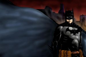 Batman by zclark
