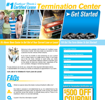 Lease Termination Web Design by xstortionist