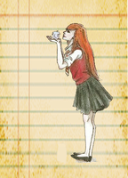Ginny Weasley by Lullaby-For-Alice