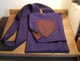 Purple Crest Bag - FOR SALE by Thaly