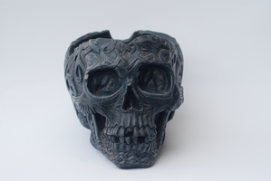 DSC06768 Treasure Skull 4 by wintersmagicstock