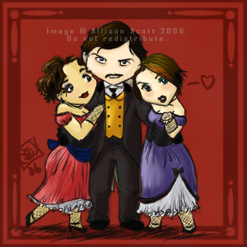 Booth and his Bitches by avalonauggie