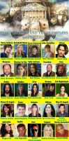 Percy Jackson and the Olympians dream cast by danthe93