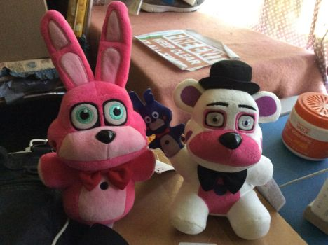 FNAF Plushies Part 3 (Sister Location)  by JYUSKO