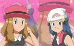 Commission : Serena and Dawn by TrainerAshandRed35