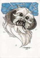 Wampa :: OC3 Head Sketch 05 by Red-J