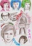 ScottPilgrimVSTheWorld Doodles by Miss-Ami