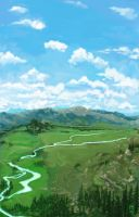 Green Valley by StudioSmugbug