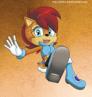 ::SpeedPaintVideo:: Sally acorn redesing by heitor-jedi