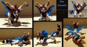Gen Kumori -- Pipe Cleaners by kalicothekat