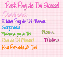 Pack png de Tini Stoessel by NoemiMolina