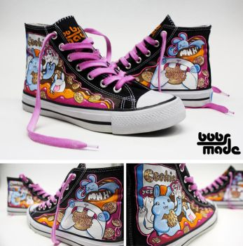 Cookie Chucks by Bobsmade
