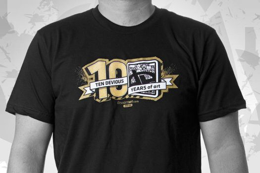 10th BirthdAy Tee by deviantWEAR