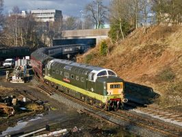 Deltic departure by irwingcommand