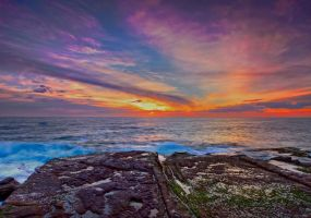 Rainbow Dawn by MarkLucey