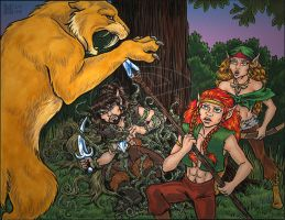 2008 ElfQuest Fan Calendar by Eregyrn