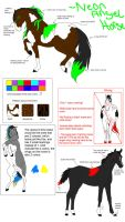 Neon Angel Breed Sheet by SnoHeartsMay