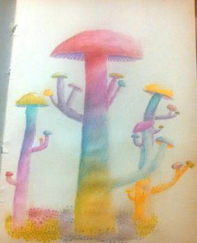 Laetus Mushrooms by Mr-And-Ms-Bubbles