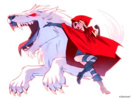Big Bad Wolf... FIGHT! by nakanoart