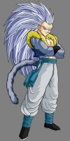 Adult Gotenks SSJ5 by theothersmen