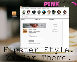 Theme WinRar: Hipster Style. {By: PinkCustomize}. by PinkCustomize