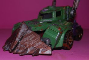 war for cybertron hook 3 by Shenron-Customs