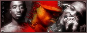 Tupac, Lil Wayne and T.I Sig by taintedgfx