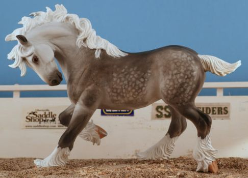 custom breyer shire by tolthorse