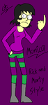 Monica-Rick and Morty Style by cartoon56