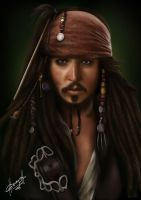 Jack Sparrow by charychu