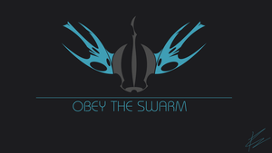 Obey The Swarm Simple by centerdave77