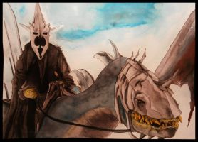 Witch King of Angmar by darksidentic
