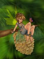 pine fairy by adi-arty (COLORS) by carol-colors