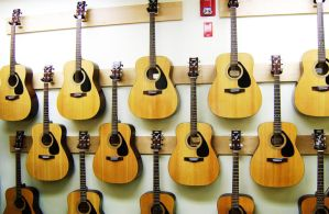 Wall Of Guitars by NAVeX-Sniper