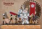 [BFC Challenge] Dragon Age SteamPunk by koogee4