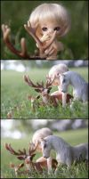 Naked in Nature 7 of 8 by MySweetQueen-Dolls