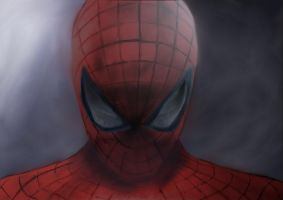 The amazing Spider-Man color by dragonvic
