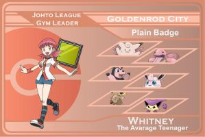 Johto Gym Leader 3 - Whitney by JohnRiddle20