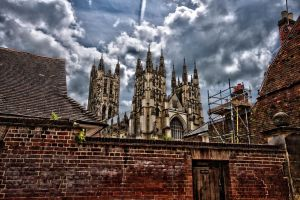 Canterbury cathedral 07 by forgottenson1