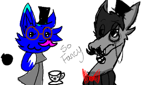 so fancy on iScribble by Luckynight48