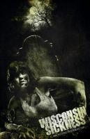 Nikki Farce Zombie Poster by mentalshed