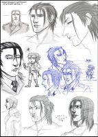 Dragunov sketches by Silent-Neutral